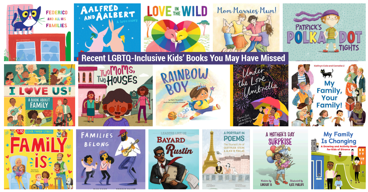 16 LGBTQ-Inclusive Kids' Books You May Have Missed